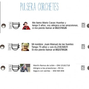 PULSERA CORCHETES